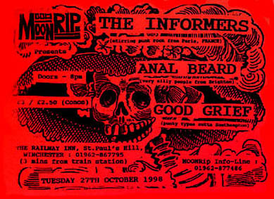 1998, 27 octobre - The Railway Inn (Winchester)